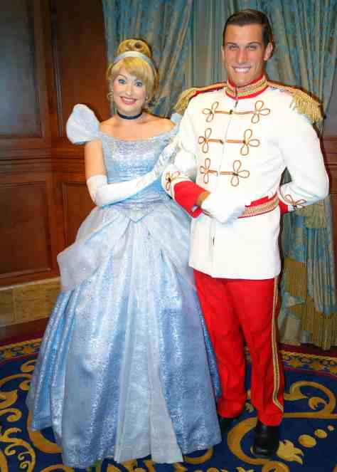 Princess Fairytale Hall Walt Disney World Magic Kingdom Cinderella and Charming. (2)