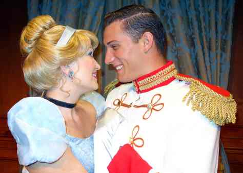Princess Fairytale Hall Walt Disney World Magic Kingdom Cinderella and Charming. (4)