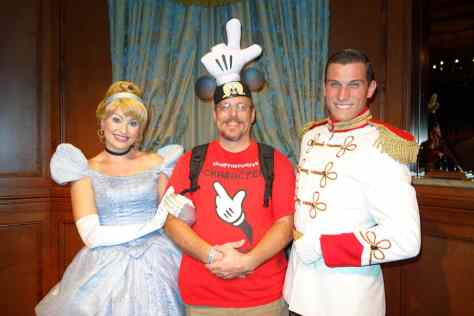 Princess Fairytale Hall Walt Disney World Magic Kingdom Cinderella and Charming. (8)