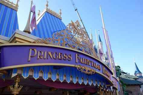 Princess Fairytale Hall Walt Disney World Magic Kingdom Exterior (6)
