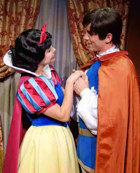 Princess Fairytale Hall Walt Disney World Magic Kingdom Snow White and Prince (3)