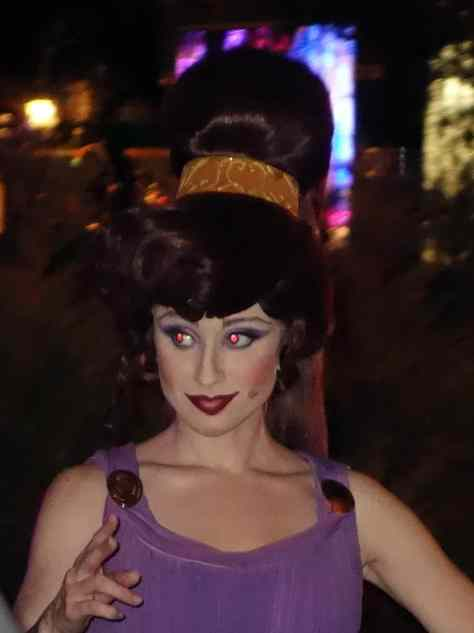 Unleash the Villains Hollywood Studios 2013 ktp Megara