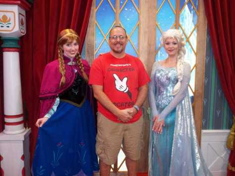 Anna and Elsa, Frozen, Norway, Epcot, Meet and Greet
