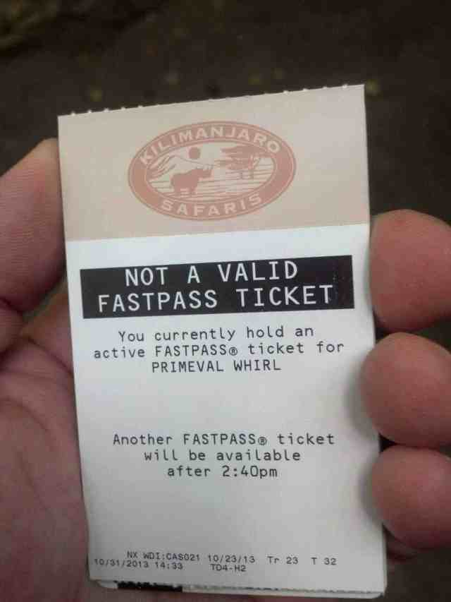 Will this change in Fastpass+ increase line jumping?