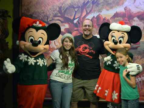 Animal Kingdom Characters In Christmas Attire And A