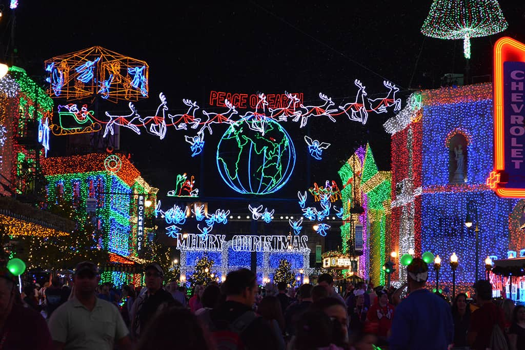 osborne family spectacle of dancing lights merry and bright dessert party reservations open kennythepiratecom - Hollywood Studios Christmas Lights