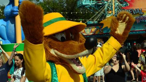 Walt Disney World, Disney's Animal Kingdom, Dinoland Dance Party, Brer Fox