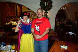 Walt Disney World, Epcot, Akershus Royal Banquet Hall, Princess Character Meal, Snow White