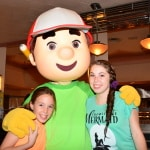 Walt Disney World, Hollywood and Vine, Character Meal, Handy Manny