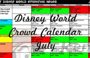 July Disney World Crowd Calendar Park Hours Entertainment Fastpass and Dining Booking KennythePirate, EasyWDW Crowd Calendar, Best Times to Visit Disney World, Free Disney World Crowd Calendar, Best Disney World Crowd Calendar
