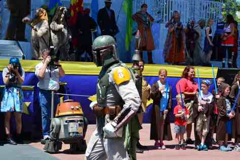 Star Wars Weekends Celebrity Motorcade Feel the Force Premium Package (83)