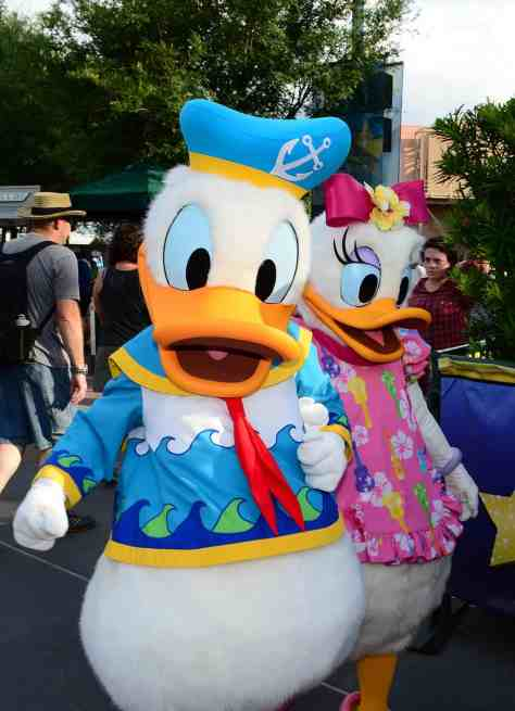 Donald Duck Rock your summer side dance party at Hollywood Studios June 2014