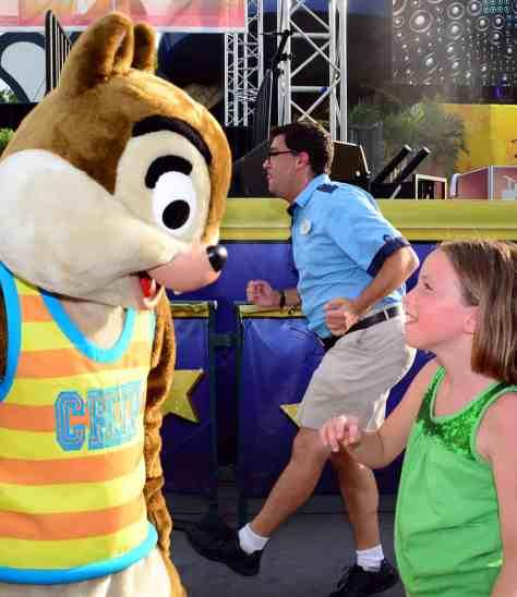 Chipmunks Rock your summer side dance party at Hollywood Studios June 2014
