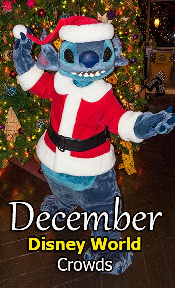 December 2018 Disney World Crowd Calendar