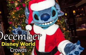 Disney World Crowd Calendar December 2019