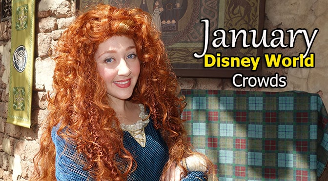 Disney World Crowd Calendar January 2019