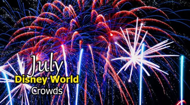 Disney World Crowd Calendar July 2020