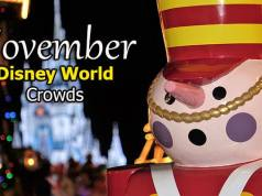 Disney World Crowd Calendar November 2019