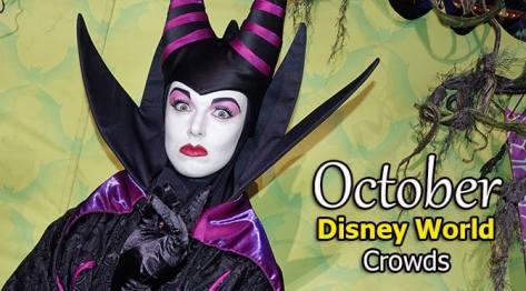 Disney World Crowd Calendar October 2019