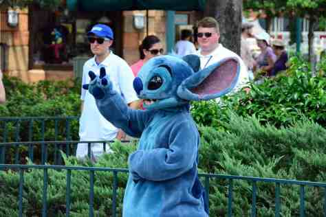 Disney's Hollywood Studios Stitch meet and greet