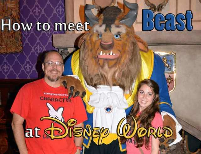 How to meet Beast at Walt Disney World Magic Kingodm Be Our Guest Restaurant