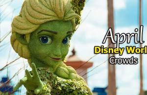 Disney World Crowd Calendar April 2020