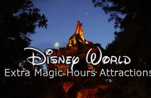 Disney World Extra magic hours attractions