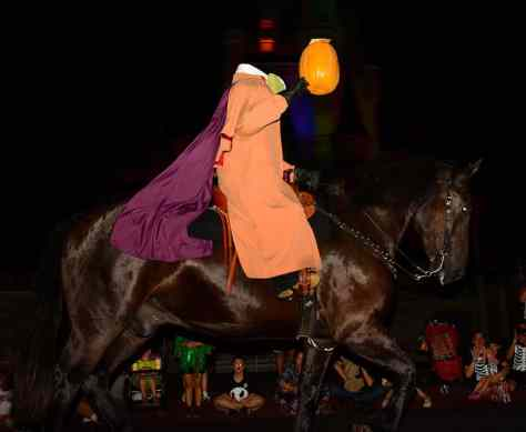 Mickey's Not So Scary Halloween Party 2014 Headless Horseman
