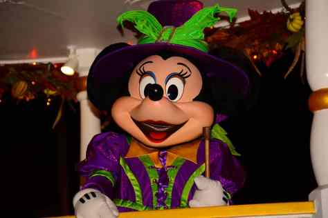 Mickey's Not So Scary Halloween Party 2014 Boo to You Halloween Parade Minnie