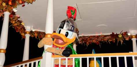 Mickey's Not So Scary Halloween Party 2014 Boo to You Halloween Parade Donald Duck