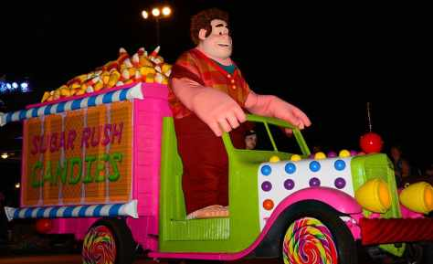 Mickey's Not So Scary Halloween Party 2014 Boo to You Halloween Parade Wreck-it Ralph