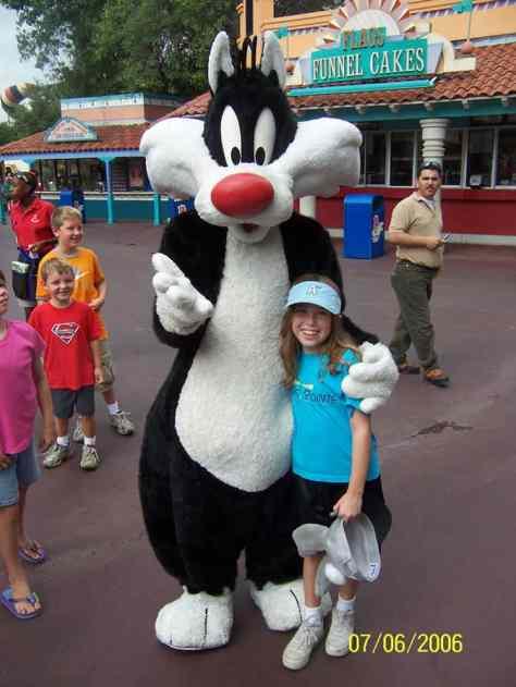 Sylvester Six Flags Texas 2006