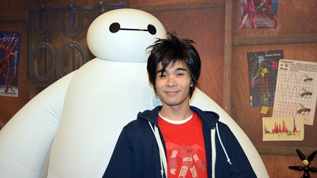 Hiro and Baymax from Big Hero 6 are leaving Walt Disney World for now