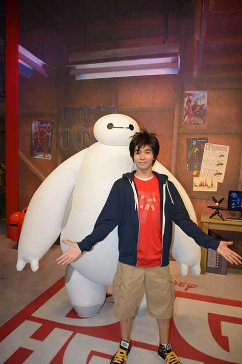Hiro and Baymax from Big Hero 6 at Disney Hollywood Studios in Walt Disney World (31)