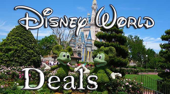 Disney World Travel Deals And Specials