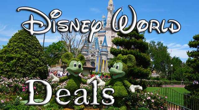 disney world deals and discounts