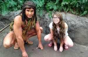 tarzan at animal kingdom discovery island in disney world
