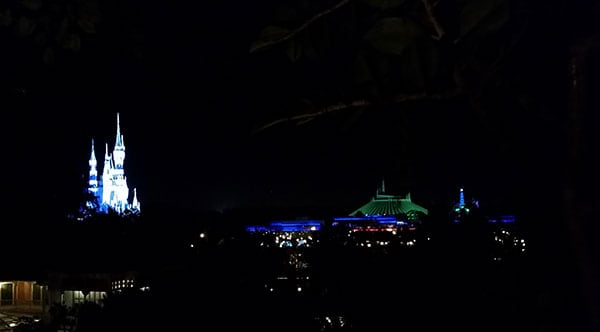 View from Swiss Family Treehouse