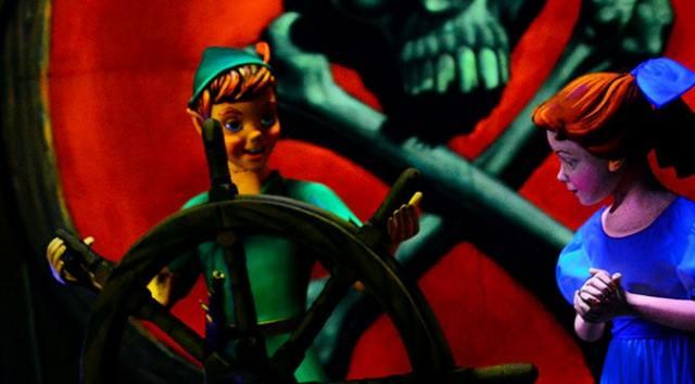 Peter Pan's Flight Fantasyland Magic Kingdom Walt Disney World