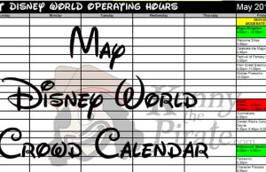 May Disney World Crowd Calendar Park Hours l kennythepirate