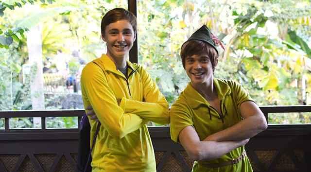 Peter Pan character meet Magic Kingdom Disney World Adventureland