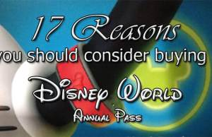 why you should buy a disney world annual pass