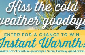 Kiss the Cold Weather Goodbye Disney World Sweepstakes l kennythepirate.com