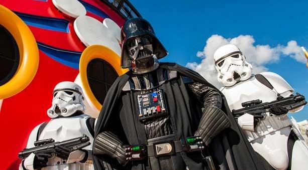 Star Wars Charaacters Disney Cruise Line Fantasy
