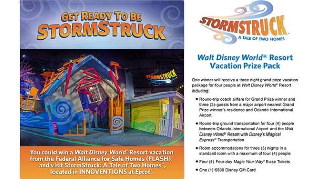 Stormstruck Walt Disney World Sweepstakes l kennythepirate.com