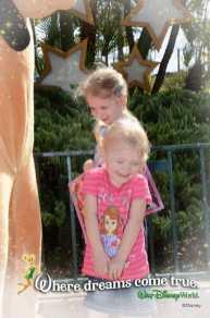 Little girl meets Pluto
