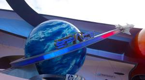 Mission Space at Epcot in Walt Disney World