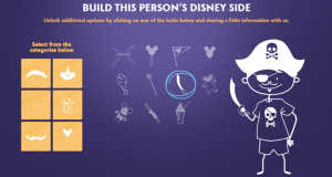 build your disney side window decal