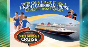 Incredibles Super Incredible Cruise Sweepstakes