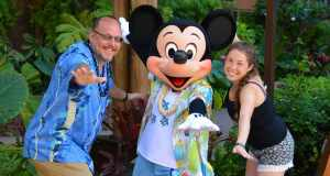Character Breakfast at Disney's Aulani Resort